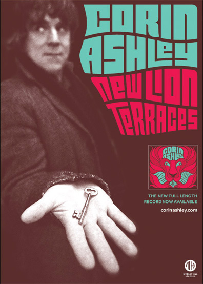 Corin Ashley - New Lion Terrace - Available Now!